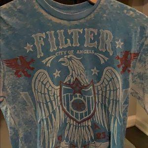 Buckle exclusive men's Filter burnout T-shirt